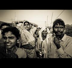People of the mela (Swiatoslaw Wojtkowiak) Tags: india canon asia desert market crowd fair 5d nomad indien rajasthan inde mela     beneshwar