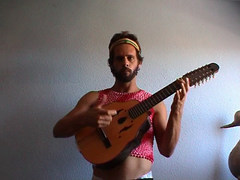 ROCK REQUIEM (bikriderstar) Tags: boy portrait music man film rock movie video colours guitar requiem videoart shortfilm bikriderstar
