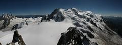 Mt Blanc Panoramic (joerundle31) Tags: panoramic chamonix mtblanc laiguilledumidi
