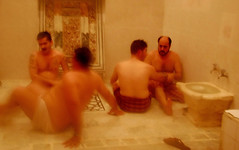 Flashback : Hammam in Aleppo; Syria (friend_faraway *) Tags: men water bath syria hammam aleppo bathhouse 5photosaday