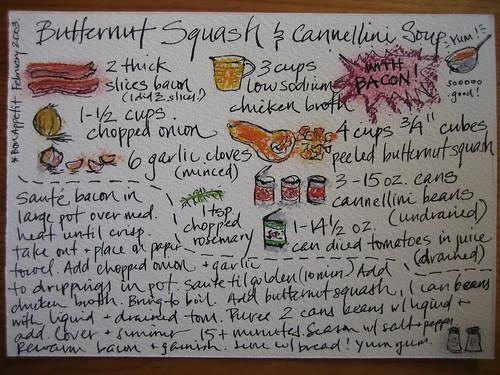 15. Butternut Squash & Cannellini Soup