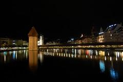 Chapel Bridge (zbjernak) Tags: switzerland luzern lucerne riverreuss