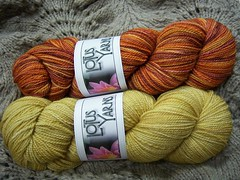 Lotus Yarns Nirvana - Falling Away & Rumplestiltskin