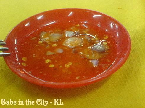 SL - tangy chilli dip