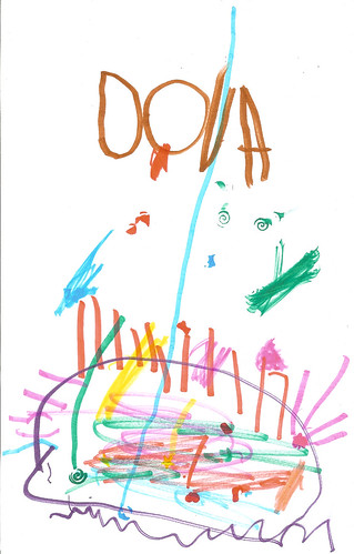 Doug's birthday card from Dova