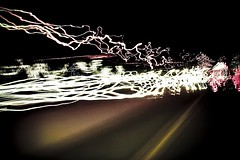 """Expecto Patronum"" (Christopher Empson) Tags: longexposure motion bulb 50mm movement lomo highway colorado driving random f14 harrypotter headlights denver spell latin interstate70 canonxti wizarding patronum iawaitaprotector inspiredbywhom"