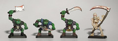 my_orcs_and_skeleton (Robotik: Michael) Tags: citadelminiatures heroquest