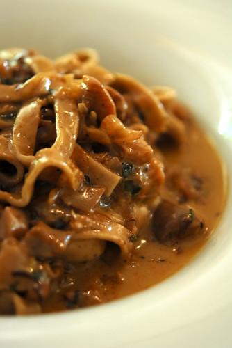 Fettuccine di Castagne ai Porcini - DSC_7485