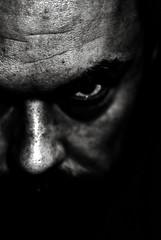 Self-Portrait (Jacopo Pandolfini) Tags: shadow portrait blackandwhite bw selfportrait contrast darkness bn ombre autoritratto ritratto biancoenero strongcontrast contrasto ritrattidiof