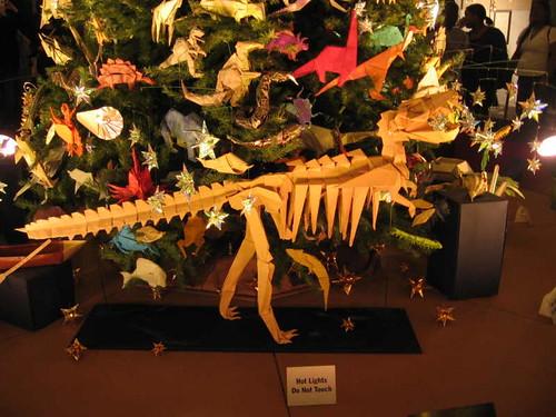 Origami Tyrannosaur
