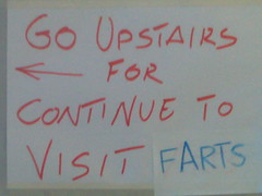 Go upstairs/Farts (twentyfoursides) Tags: go upstairs farts correction accademia