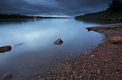Heure bleue sur le fleuve Mahury | Blue hour over the Mahury river (Erick Loitiere) Tags: blue river landscape twilight rocks dusk stones bleu erick 5d crpuscule fleuve guyane 973 frenchguiana canonef1740mmf4l roura guyanefranaise abigfave mahury 97300 loitiere singhrayreversedgndfilter erickloitiere ricoliki explore11thankyou