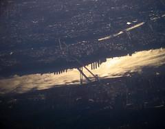 2007 11 24 - 076 - New York City (thisisbossi) Tags: new york bridge usa sunlight ny newyork us washington unitedstates bridges aerial airborne citymanhattanhudson riverriversskyscrapersshadowsgeorge