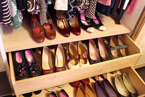 Shoes in My Closet