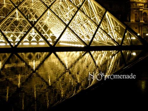 你拍攝的 Louvre 3。