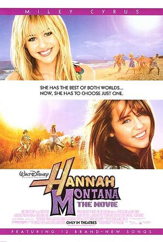Hannah Montana: The Movie Movie Poster