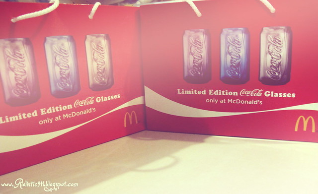 McDonald Cola Can Glass