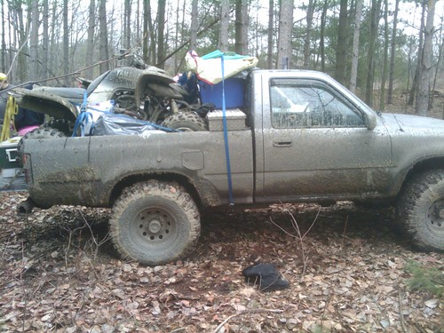 94 pickup pulling a atv trailer  - YotaTech Forums