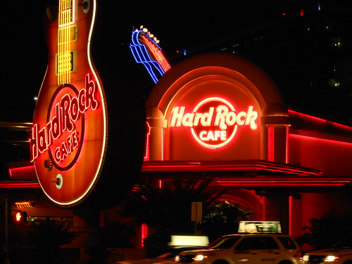 Hard Rock Cafe Neon