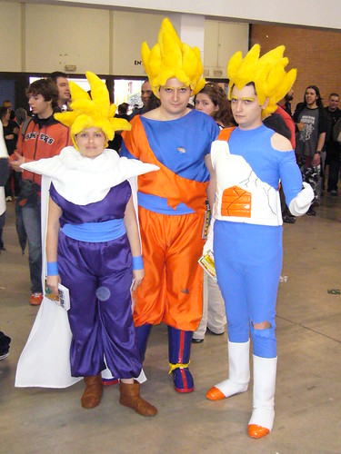 Goku, Vegeta & Gohan Super Saiyans; ? Oldest photo