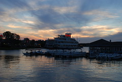 Sunset Sky at Downtown Disney