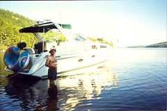 On the Ottawa (Diane's Photos & Videos) Tags: steve boating ottawariver