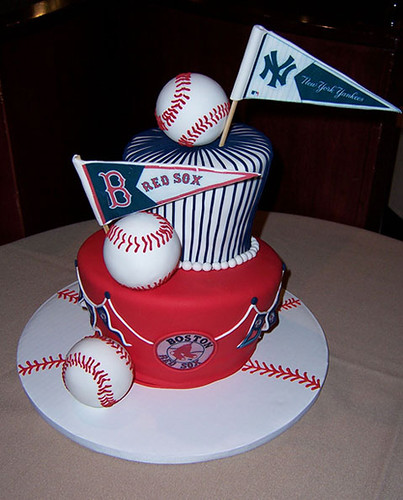 Red sox vs. yankees cake