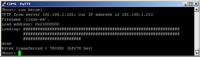 U-Boot run kernel