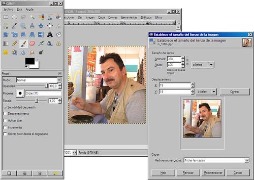Efecto Polaroid - GIMP