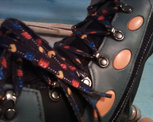pacman skate laces