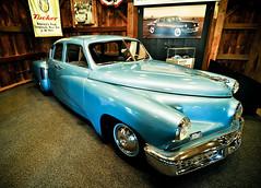 Tuckered Out (pairadocs) Tags: classic car museum automobile display michigan wideangle tokina vehicle tucker 1224mm gilmore gilmorecarmuseum hickorycorners pairadocs