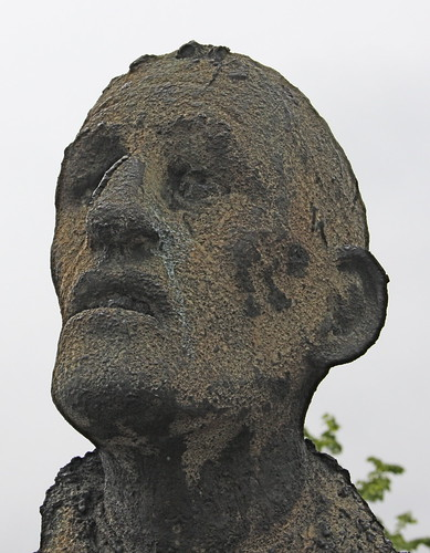 Sad Potato Famine Statue
