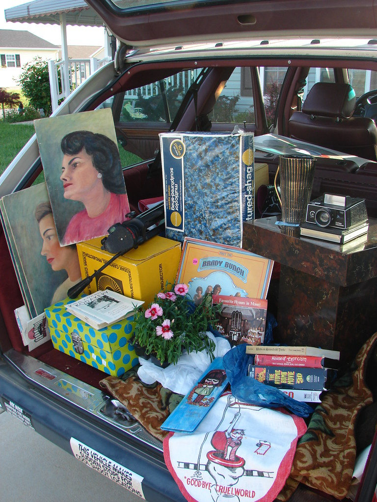 contents of my trunk - May 15