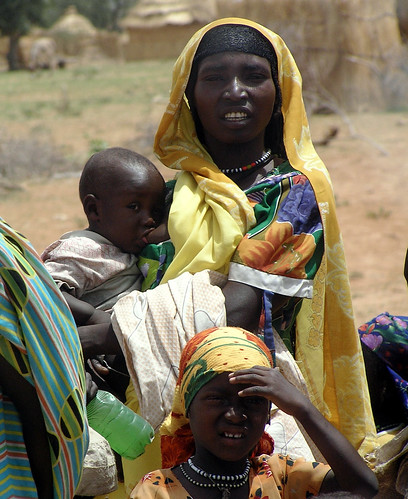 Photo of Darfur refugee by Flickr user Hoisaeter used under a Creative Commons license.
