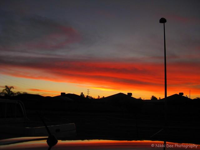 Sunset 26/05/08