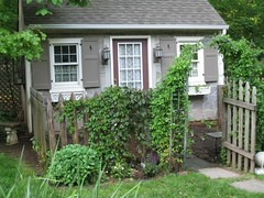 Garden Cottage (Oh So Very...) Tags: ball garden french cottage bust angels cupola statuary gazing treeface weathervein