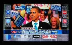 A Vision for America (Tony Fischer Photography) Tags: history america democracy election clinton politics photojournalism hillary africanamerican vote hillaryclinton 2008 speech democrats obama primary voting blackhistory nomination primaries democraticparty barackobama barack