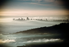 lost in the mist (sam b-r) Tags: sf mist film fog skyline topqualityimageonly s81904 sambrimages