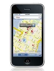 iPhone 2.0 con GPS