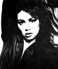 Jennifer Rush (kop2nekke) Tags: jennifer rush rock pop music black white photo 80s 1980s big hair power love artist singer
