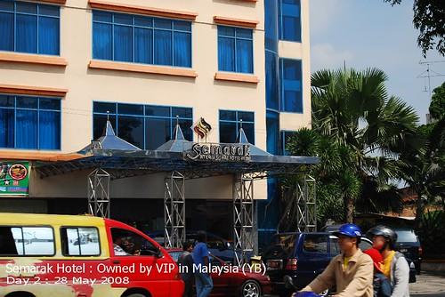 Semarak Hotel : Owned by VIP in Malaysia (YB)