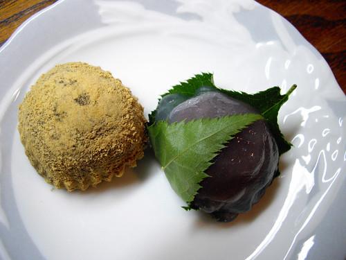 warabi-mochi & kudzu-sakura