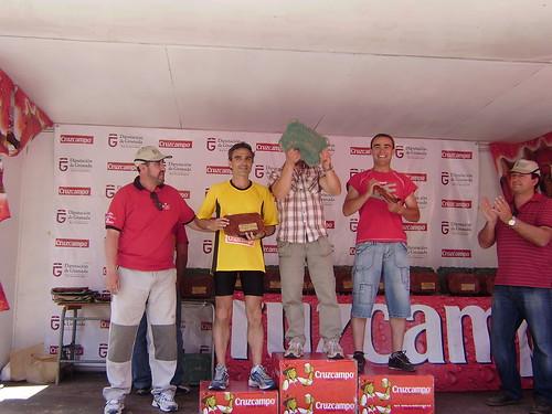 Podio atleta local: I Media Maratón de Montaña: Lacalahorra-La Ragua