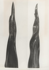Sleek sculpture made from wood, shot at various angles, the University of Newcastle, Australia (UON Library,University of Newcastle, Australia) Tags: sculpture art australia exhibitions nsw newcastleuniversity visualart artworks universityofnewcastle artdisplays universitydisplays p797 p79743 uonphotographeruon