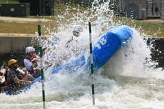 Wheeeee!! (David Hopkins Photography) Tags: water nc paddle raft smörgåsbord usnationalwhitewatercenter sotpictureoftheweek