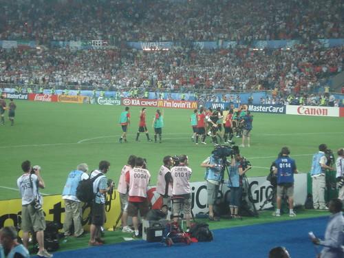 EM 2008. Spanien - Italien. Spanien gewinnt