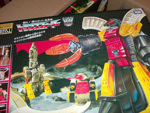 Transformers Omega Supreme G1 Encore Reissue
