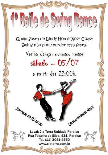 Flyer: Festa de Swing