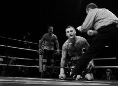 bonsante_vanda_down (Action Photo's) Tags: blackandwhite sports minnesota daddy fight emotion action scream boxing predator knockdown anthonybonsante mattvanda