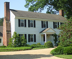 Colonial Williamsburg: Bassett Hall: John D. Rockefeller, Jr.: Restored to 1948 (bill barber) Tags: frame williamsburg restoration jamesriver colonialparkway hamptonroads brutonparish yorkriver bassetthall historictriangle virginiapeninsula nationalscenicbyway georgearmstrongcuster johndrockefellerjr middleplantation abbyaldrichrockefeller revdrwargoodwin
